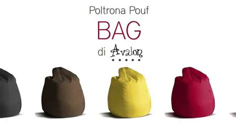 Poltrona Sacco Pouf Di Avalon Bag