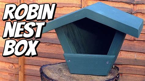 making robin nest box scraps mother law eeek youtube