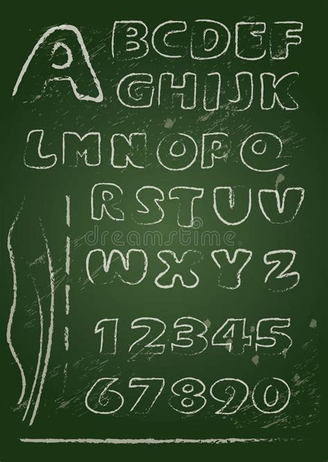blackboard with white letters abc alphabet written on a blackboard stock image 20621 | abc english alphabet written blackboard white chalk handwritten grunge letters numerals 45721803