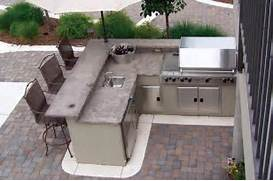 Outside Kitchen And BBQ Area Outdoor Bbq Backyard Ideas Kitchen Island Doubles As Dining Bar A Great Place To Start The Day Grilling Out This Summer Here S How To Update Your Back Yard OUTDOOR GRILL ISLANDS CULTURE STONE OUTDOOR GRILLS REVIEWS