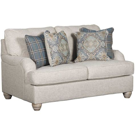 Linen Loveseat by Traemore Linen Loveseat 2740335 Furniture Afw
