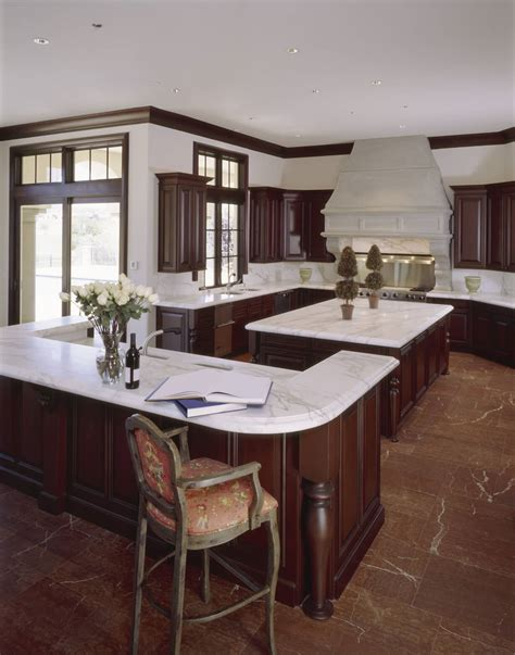 brown cabinets with white countertops 49 contemporary high end natural wood kitchen designs