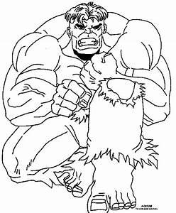 Gratis The Incredible Hulk Kleurplaten voor Kinderen 5