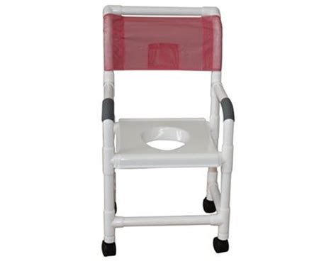 Pvc Commode Chair by Mjm Mjm Pvc Commode Shower Chair With Support Save At