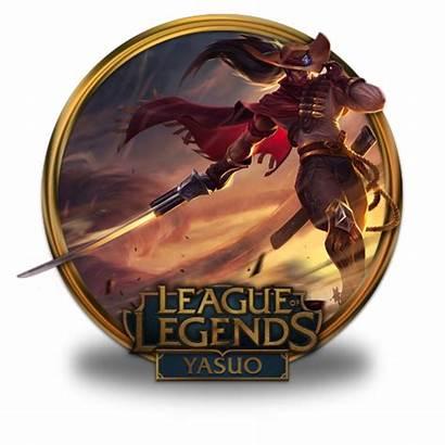 Yasuo Icon Noon Legends League Border Icons
