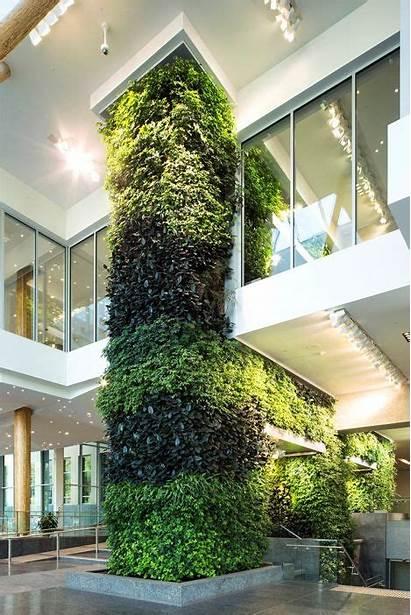 Wall Living Building Edmonton Greenroofs Biofilter Federal
