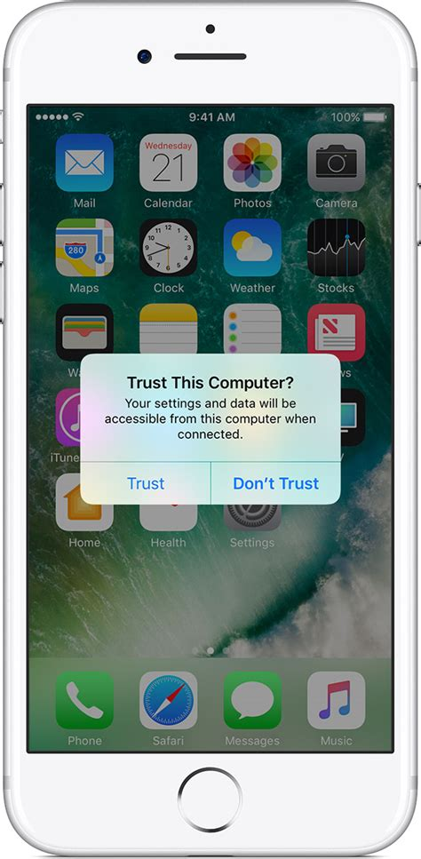 iphone trust this computer about the trust this computer alert on your iphone