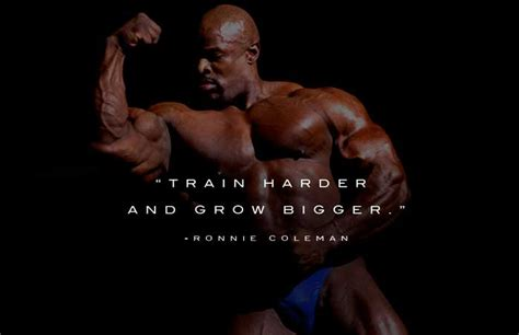 Ronnie Coleman Motivation Quotes & Workout Routine