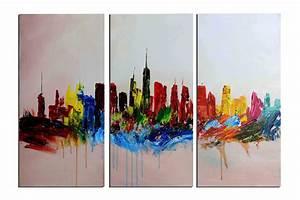 Tableau Peinture Sur Toile : tableau peinture a l 39 huile prix ~ Teatrodelosmanantiales.com Idées de Décoration