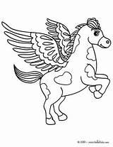 Coloring Pegasus Flying Horse Pages Minotaur Drawing Mythology Greek Sheets Getcolorings Printable Tinkerbell Print Getdrawings sketch template