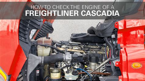 check  freightliner cascadia engine youtube