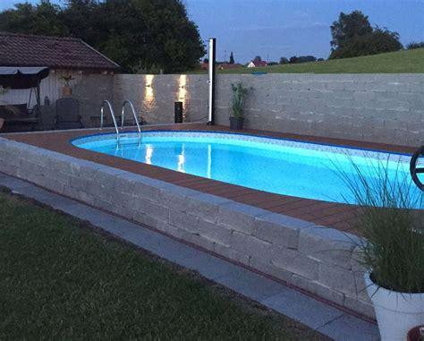Pool Am Hang Bauen by Pool Am Hang Selber Bauen Wohn Design
