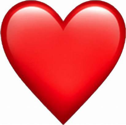 Emoji Heart Iphone Emojis Ios Hearts Transparent