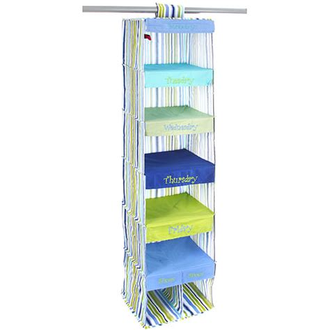 Days Of The Week Closet Organizer For by Days Of The Week Closet Organizer Stripe In