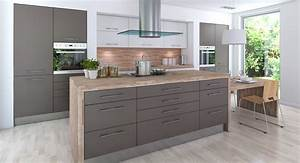 Grey Kitchen Cabinets With Black Countertops Furniture