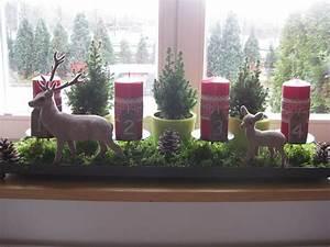 Fensterbank Deko Weihnachten : adventsgesteck fensterbank xmas pinterest ~ Lizthompson.info Haus und Dekorationen