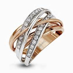 engagement rings 500 18k white gold two tone intertwined ring fabled collection