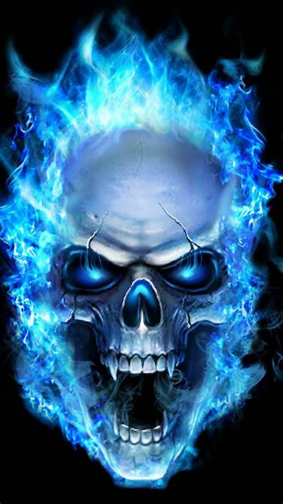 Iphone Skull Flame Graffiti Animation Artwork Guys