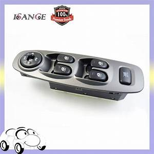 Isance Electric Power Window Switch Left Front For Hyundai