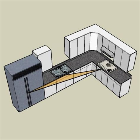 kitchen design layout ideas l shaped 1000 ideas about l shaped kitchen designs on 7950