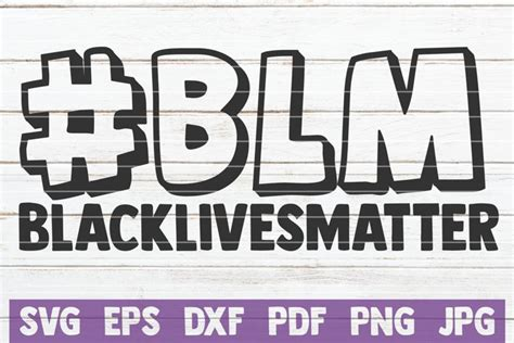 blm black lives matter  cut files design bundles