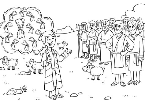 View More Coloring Sheets Download Pages Joseph
