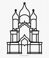 Cathedral Alexander Outline Coloring Drawing Nevsky Jam Clipartkey sketch template