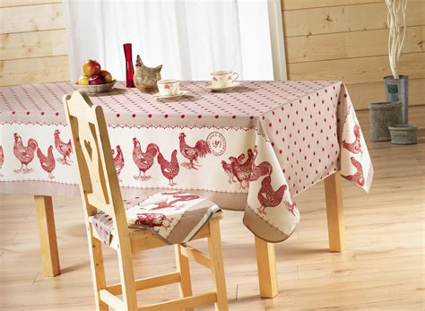 nappe de cuisine nappe cagne table de cuisine
