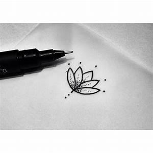Tatouage 3 Points : coup de coeur petite fleur de lotus dotwork tatouage ~ Melissatoandfro.com Idées de Décoration