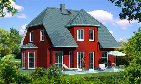 Haus Mit Erker Modern by Turmhaus Mit Kr 252 Ppelwalmdach Und Erker Als Massivhaus