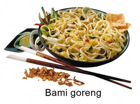 curry cuisine substitutions is bami goreng the same as the dish