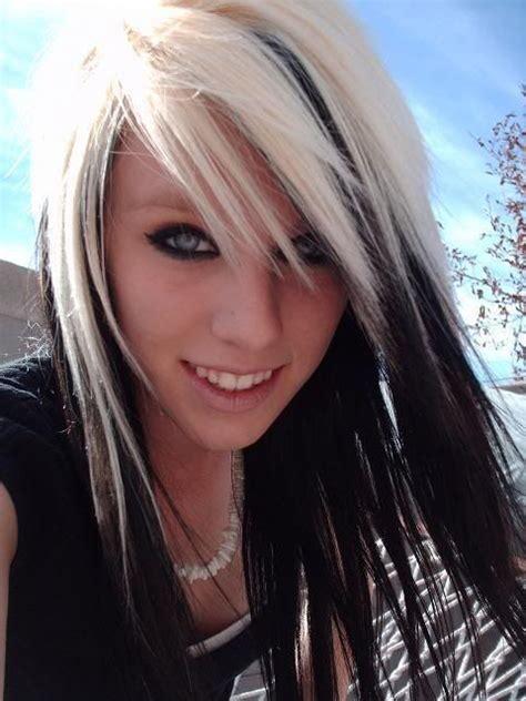 Blonde Hair With Black Lowlights Underneath