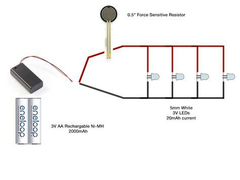 Diy Led Shoes Circuit Diagram Electrical