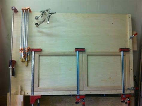 Pre Made Mdf Cabinet Doors by Door Clamping Jigs And Tricks