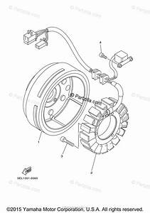 Yamaha Motorcycle 2003 Oem Parts Diagram For Generator