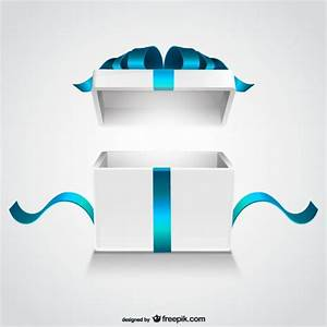 Open gift box Vector | Free Download