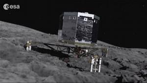 Rosetta Spacecraft's Probe Pulls Off Comet Landing Video ...