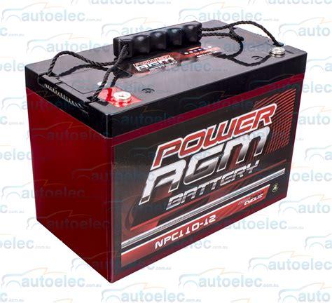 agm batterie 100ah 4wd 12v 100ah 110ah 800cca agm battery cycle caravan solar cing marine