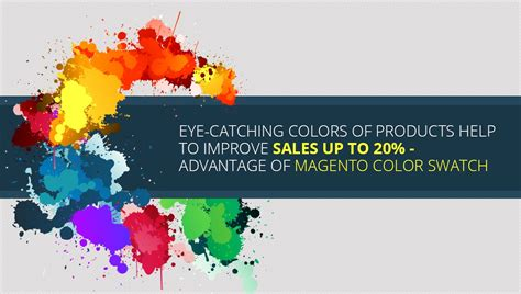 eye catching colors of products help to improve sales up