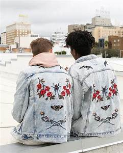 Embroidered jackets floral urban outfitters aesthetics ...