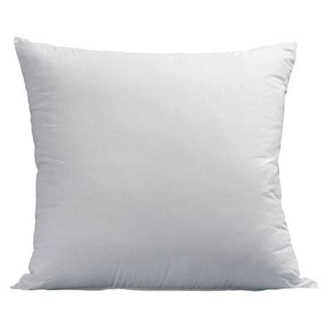 throw pillow inserts luxyfluff faux synthetic square decorative