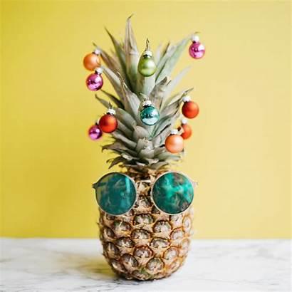 Tree Christmas Pineapple Decorating Minimalist Warehouse