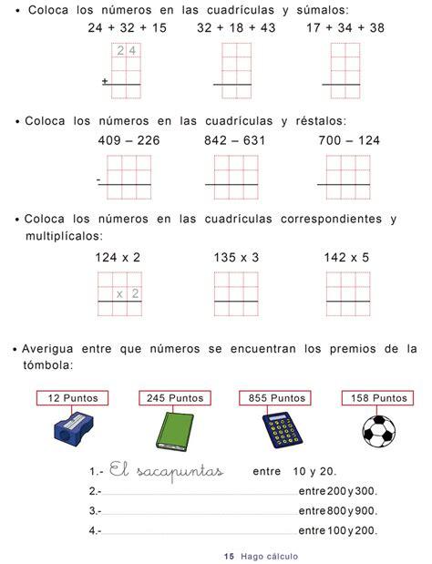 Cuadernos Repaso Matemáticas De Segundo De Primaria