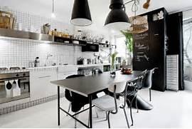 59 Cool Industrial Kitchen Designs That Inspire DigsDigs Industrial Decor Interior Design Ideas More Industrial Design Interiors Cafe Interior Design Design Cafe Spacing Decorating Ideas Gallery In Basement Industrial Design Ideas