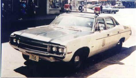 1971 Amc Javelin Police Car
