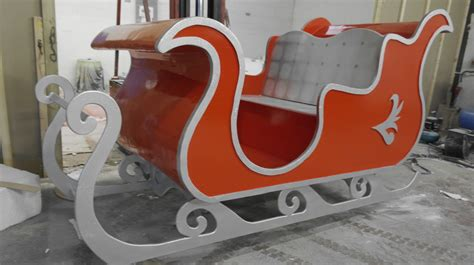 custom made sleigh made out of wood icacreation co uk