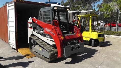 takeuchi tl tl  speed track loaders  arrived youtube