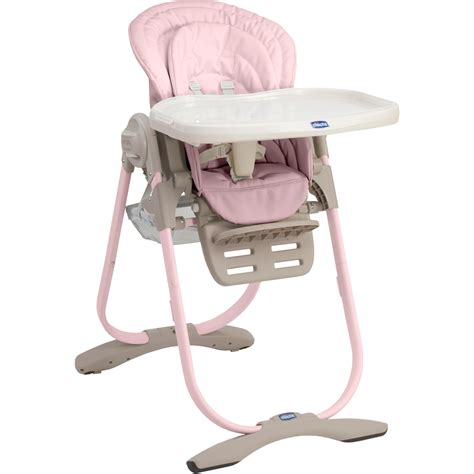 chaise haute fille chaise haute polly magic pink 30 sur allobébé