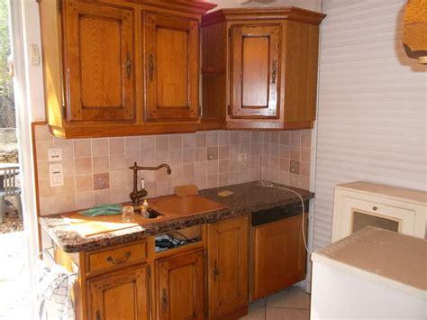 element de cuisine occasion meubles cuisine chêne massif clasf