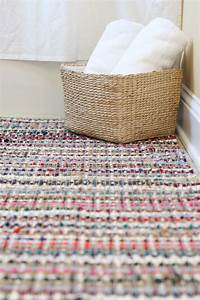 how i made a custom sized rug and some decorations for 7 With custom bathroom rugs